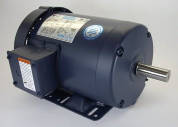 2 hp 1725 RPM 145T Frame 208-230/460 Volts TEFC Leeson Electric Motor # 120923