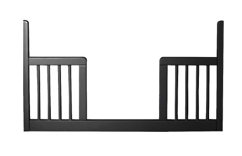 Newport Toddler Crib (Newport Cottages Toddler Guardrail for Devon Crib, Black)