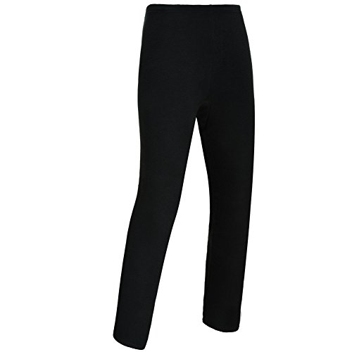 The First Outdoor Women's Multi Sports Fleece Thermal Pants Size L Black