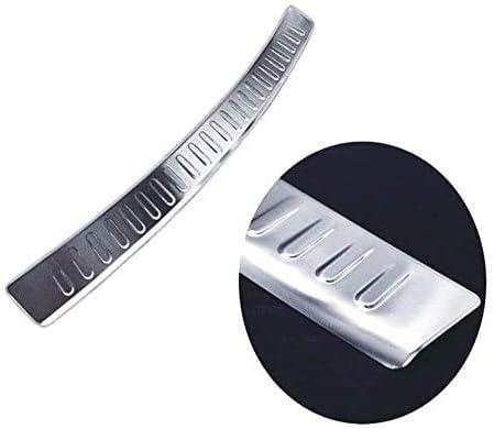 Protector de parachoques trasero cromado para 5 SERIES F11 ESTATE 2010-2017