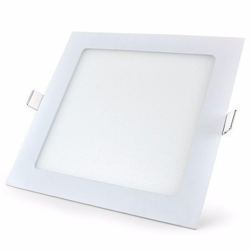 Painel Led 3w Embutir Quadrado - Branco Quente