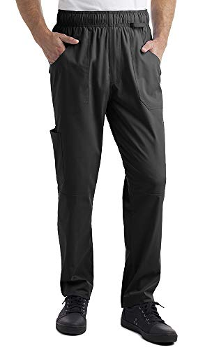 - Industry Line Mens Stretch Cargo Chef Pant(Large)