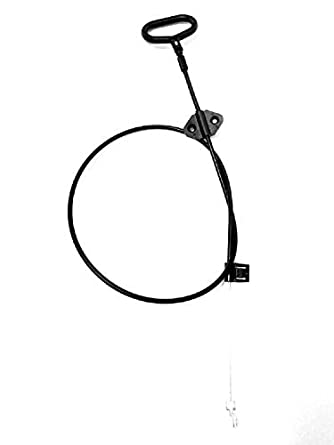 Mango universal reclinable Cable D-ring de lanzamiento - Expuestos Longitud 5.25