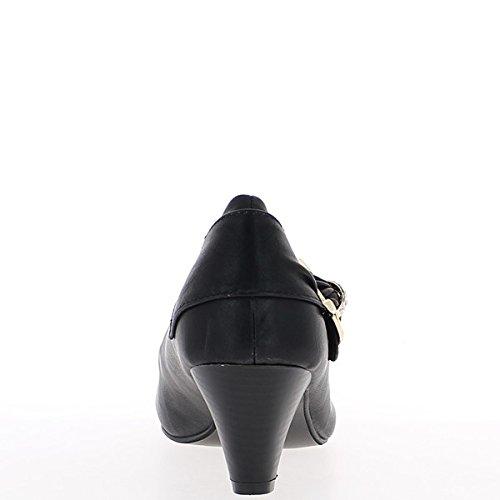 Black pompe tacco strass di dimensione 6cm arredamento