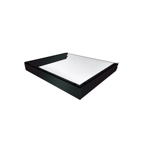 Vantage Point E16D-B Double Attachment Shelf for Evo System ES Series – Black