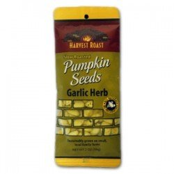 Harvest Roast Pumpkin Seeds Garlic Herb (12x2 OZ) by Harvest Roast
