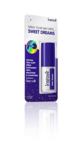 Instavit 2.5 ml Sweet Dreams 10 Doses Sleep Aid Oral Spray by Instavit