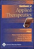 Handbook of Applied Therapeutics : Text and PDA CD-ROM Package, Koda-Kimble, Mary Anne and Young, Lloyd Yee, 0781749859