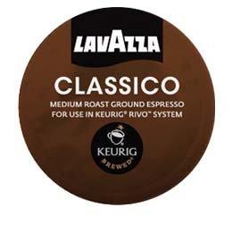 Lavazza Espresso Classico Keurig Rivo Pack, 72 Count (Keurig Rivo Espresso Machine From Keurig And Lavazza)
