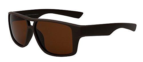 UV400 de polarizadas de Guía frío de calidad superior lentes de Vintage plata Googles Sol Mens de TIANLIANG04 sol w vaso hombres brown espejo gafas de Los HD macho Brown 6WnxwSvRB