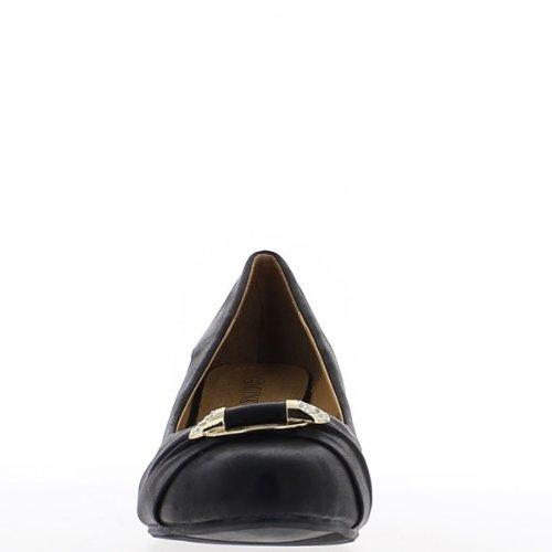 talon Escarpins mat noir taille compensés grande 5cm de 5 1r7qX1