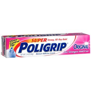 Super Poligrip Ultra Fresh Cream (SUPER POLIGRIP Denture Adhesive Cream Ultra Fresh 2.40 oz by Super Poli-Grip)