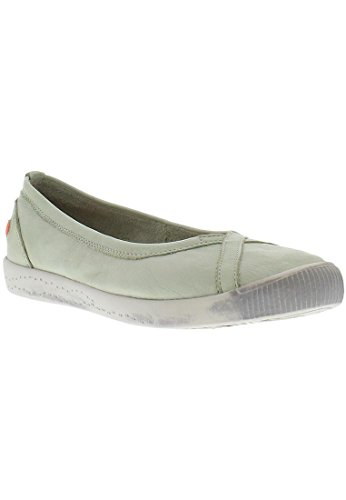 Softinos Damen Ilma Slipper Pastel Green