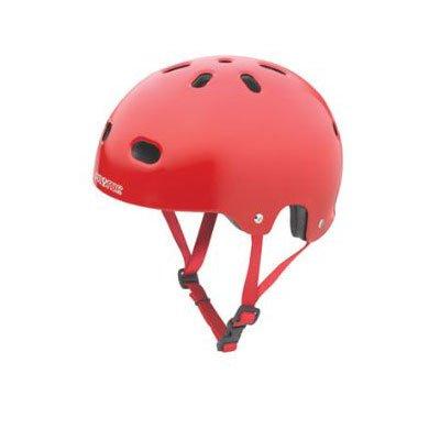 Pryme 8 V2 BMX/Skate Helmet Gloss Red/Red Straps LG/XL Fits 57-60cm.