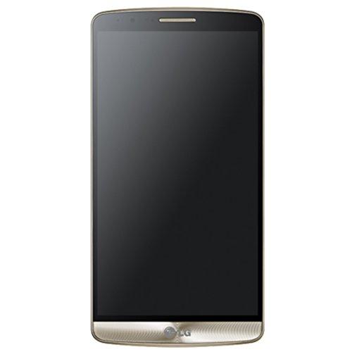 LG G3 LG-F400 Quad HD IPS 32GB Shine Gold Factory Unlocked OIS Plus Camera - International Version No Warranty - Lg Shine