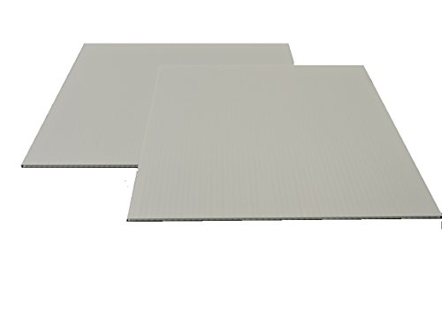 "Corrugated Plastic 4mm White Boards - 36""x48"" (10 sheets)"