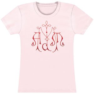 Melissa Auf Der Maur Lightning Is My Girl Girls Jr Large Pink