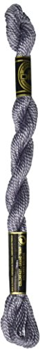 DMC 115 3-318 Pearl Cotton Thread, Light Steel Grey