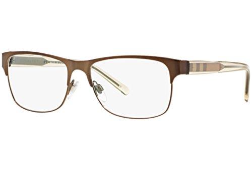 - Burberry Men's BE1289 Eyeglasses Brushed Brown 55mm