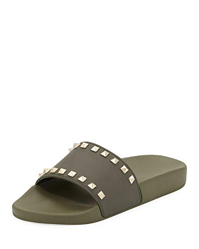 Used, Valentino Garavani Rockstud Pool Slide Sandals, Oasis for sale  Delivered anywhere in USA
