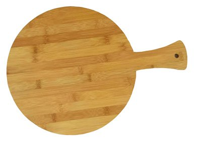 (Round Bamboo Pizza Board (16