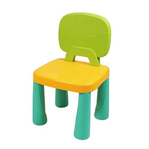 플라스틱 어린이 의자 내구성 및 경량 9.65 높이 좌석 실내 또는 실외 사용 소년 소녀 세 2+사탕