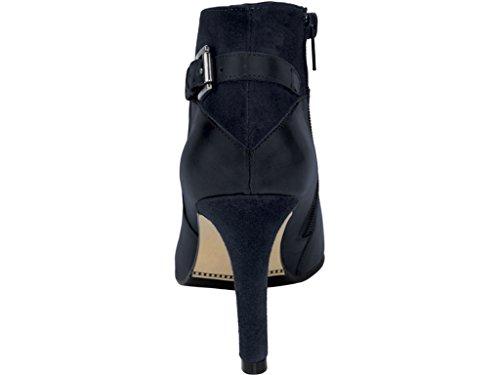 heine Stiefeletten Leder Schwarz Schuhgröße: 36