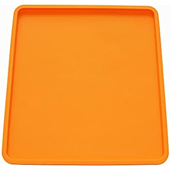 X-Haibei Swiss Roll Cake Mat Flexible Baking Tray Silicone Pizza Cookies Mold L10 W11inch