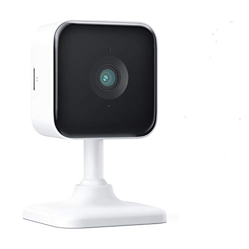 Teckin Cam 1080P FHD Indoor Wi-Fi Smart Camera for Home Security, Night Vision, 2-Way Audio, Motion&Sound Detection, Desk Stand/Wall&Ceiling Mount/Action Mode, for Baby/Pet/Elderly (White)