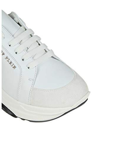 Zapatillas Mujer Wsc1070ple009n01 Philipp Cuero Blanco Xbieqztiw Plein nqHx1Cwz