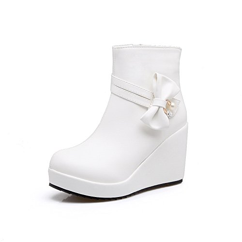 BalaMasa  Abl09446, Sandales Compensées femme - Blanc - blanc,