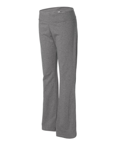 Womens Cotton Spandex Fitness Yoga Pant - Deep Heather 810 2XL
