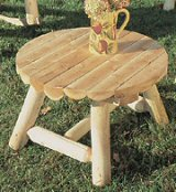 """Round Coffee Table Table Top Size: 27"""""""