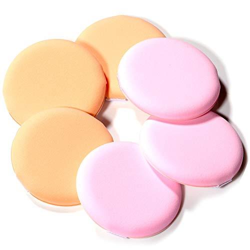 (JACA Ultra-Soft Makeup Foundation Sponge Air Cushion Powder Puff for Applying BB Cream, Liquid Cream, Shading Loose Powder)