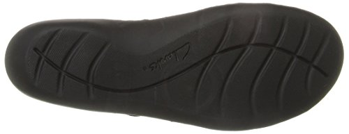 Clarks Womens Ashland Spin Q Slip-On Loafer, Black, 10 M US