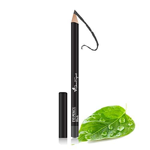 Better'n Ur Eyes Natural Eyeliner Pencil: BLACK | Hypoallergenic & Great for Sensitive Eyes | Natural | Vegan | Certified Cruelty Free | Paraben Free | Gluten Free | Smooth Application | Long Lasting
