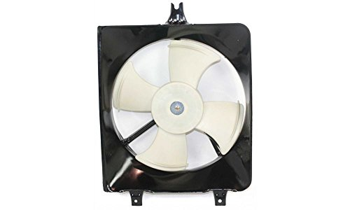Evan-Fischer EVA24672025376 New Direct Fit A/C Condenser Fan Assembly for ACCORD 94-97 (95 96 97 Accord Cl)