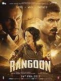 Rangoon Hindi Movie DVD