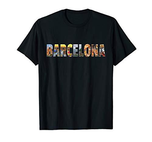 Barcelona Souvenir Spanish Vacation T Shirt ()