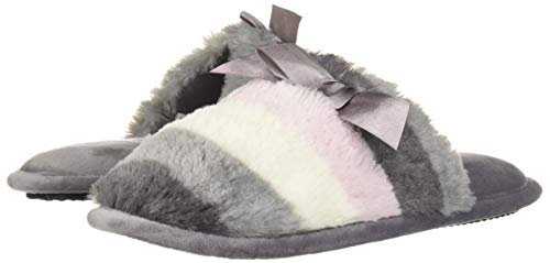 Dearfoams DF Women's Scuff Slipper, Excalibur, Medium