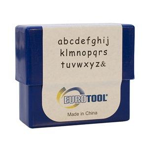 Siena Alphabet Stamp Set-3mm Lower Case - PUN-710.00