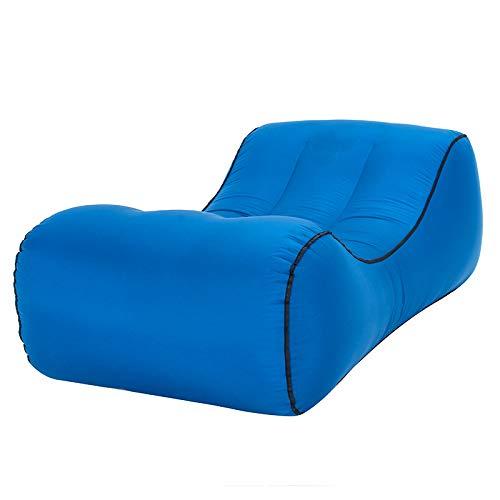 B  HEKQ Matelas gonflables Chaise Gonflable d'air canapé Chaise Longue canapé-lit Gonflable de l'eau portable de Haute qualité pli extérieur intérieur 150  70  50cm (Couleur   E)