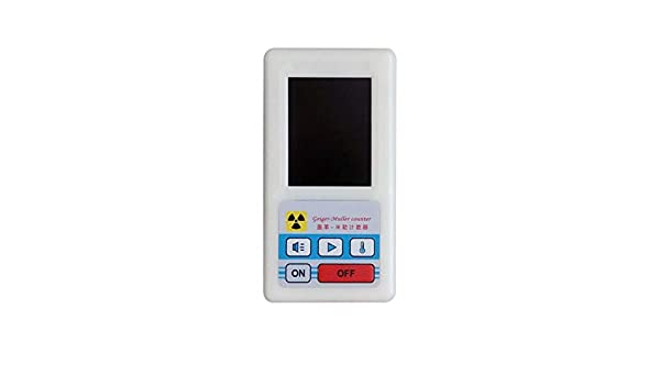 Contador Pudincoco Detector de radiación nuclear Rayos Gamma Dosímetros de rayos X Medidor de mármol Pantalla de pantalla Dosímetro de radiación Contadores ...