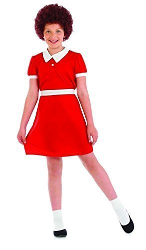 [Extra Large Girl's Orphan Annie Costume] (Annie Costumes For Kids)