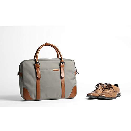 Pour Mens Gris Afcity College couleur Messenger Sac Macbook Gris Bag Étanche Grand Pro Sacoche À Bandoulière Hommes D'épaule 7q7arnwxgR