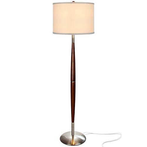 Brightech Lucas LED Pole Floor Lamp - Modern Living Room Lig