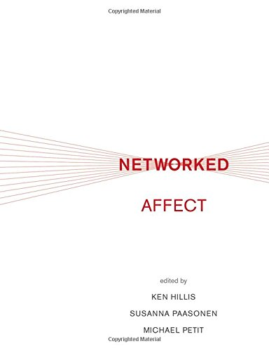 Book cover from Networked Affect (The MIT Press) by Gregg Jarrett