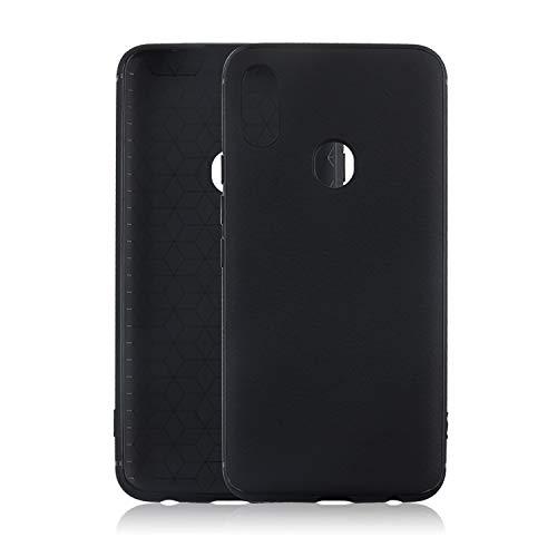 CiCiCat UMIDIGI S3 PRO Case Cover, Slim Soft TPU Silicone Back Cover Shell Case, Stylish Strong Protective Case for UMIDIGI S3 PRO Smartphone (Black, 6.3'') ()