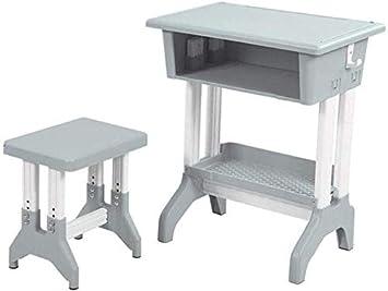 MJK Mesas, conjunto de sillas de escritorio de estudio Taburetes ...