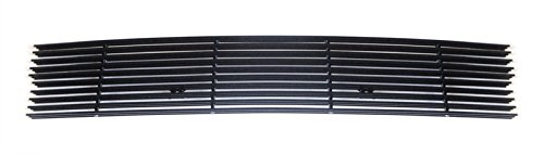 MaxMate Fits 03-04 Lincoln Navigator Lower Bumper 1PC Replacement Black Billet Grille Grill Insert